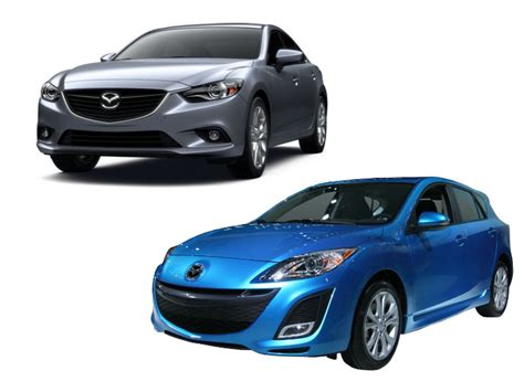 different mazda find out how the mazda 3 and mazda 6 differ