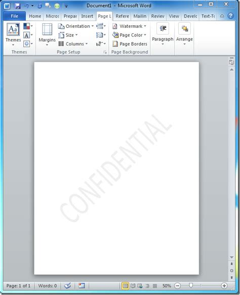 watermark in visio 2010 how to insert confidential watermark in excel 2010 how