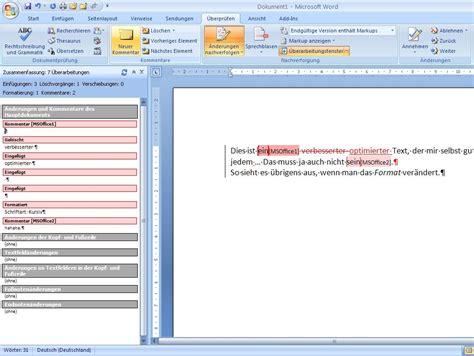 Word Vorlage Schreibschutz Aufheben Korrekturen Und 196 Nderungen Verfolgen In Word 2007 Und 196 Ltere