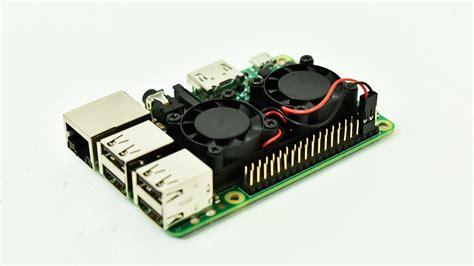 raspberry pi 3 fan dual fan raspberry pi 3 heatsink test