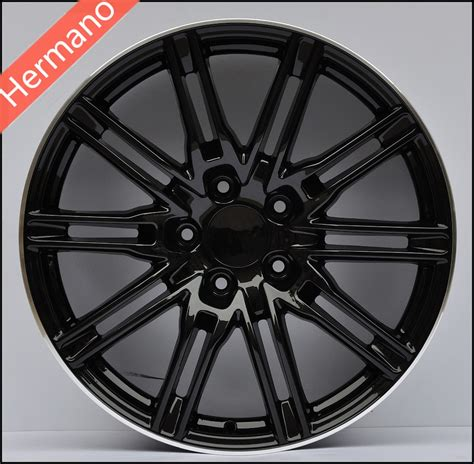 matt rims matt black machine lip 21x10 inch pcd 5x130 offset 50mm