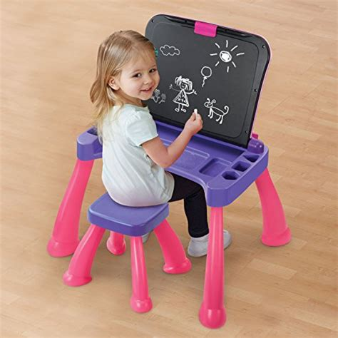 vtech touch and learn activity desk deluxe pink vtech touch and learn activity desk deluxe pink import