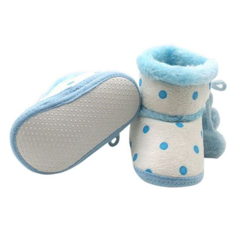 winter shoes for baby baby newborn winter warm plush boots toddler infant