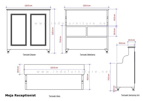 Meja Tamu Kantor koleksi ukuran standar meja ruang tamu atraktif furniture