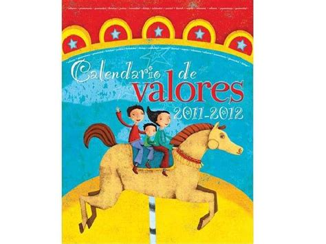 Calendario De Niños Calendario De Valores 2011 2012