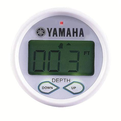depth finder for ski boat yamaha digital depth finder flemington yamaha