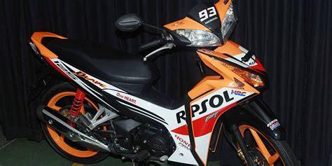 Baju Balap Honda Repsol Motogp cbr150r dan blade 125 fi pakai quot baju quot edisi juara kompas
