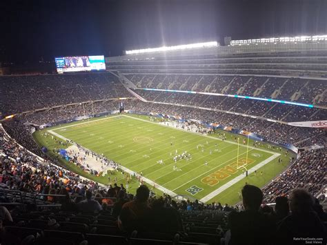 section 435 soldier field soldier field section 429 chicago bears rateyourseats com