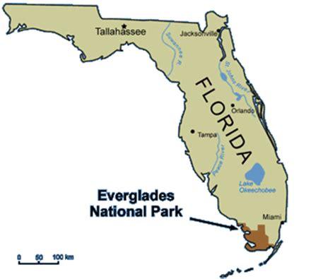 everglades national park map ecoscenario everglades national park