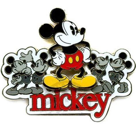 theme line mickey your wdw store disney mickey pin line up