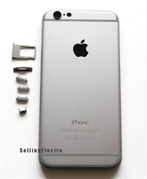 space gray  housing cover mid frame replacement  iphone    ebay