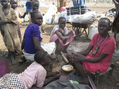 unhcr south sudan employment restoring peace between refugees and villagers in maban