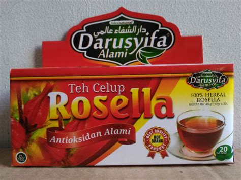 Rosella Teh Celup Jasarama Isi 25 darusyifa teh celup rosella alzafa store alzafa store