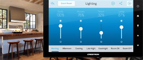 crestron home automation systems atlanta smart homes
