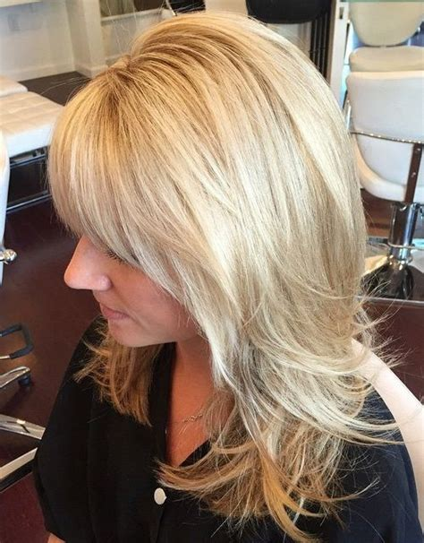 haircuts short overhears longer on crown 40 cute and effortless long layered haircuts with bangs