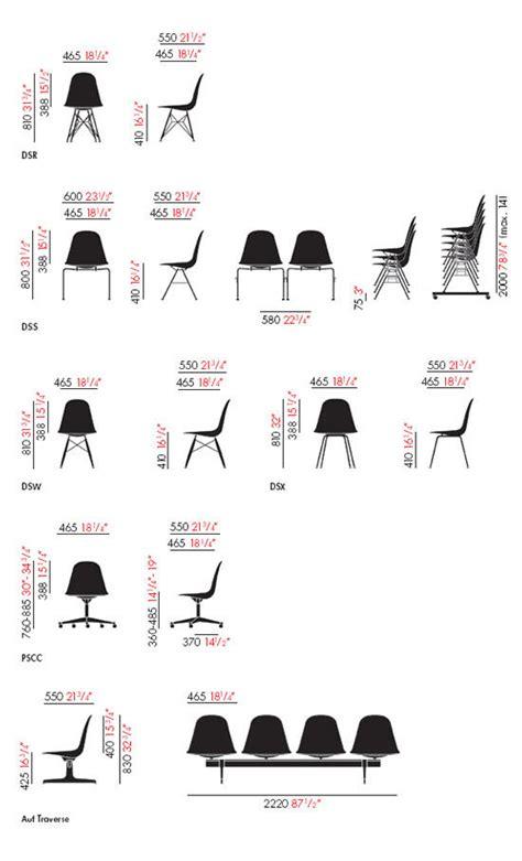 stuhl 2d eames plastic side chair dsr mehrzweckst 252 hle vitra