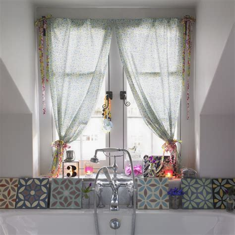 country crafts and curtains bathroom curtains craft ideal home