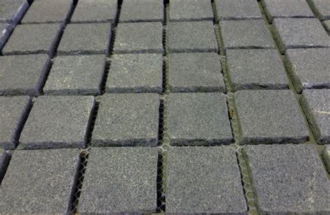basalt cobblestone pavers 9 flamed cobblestones