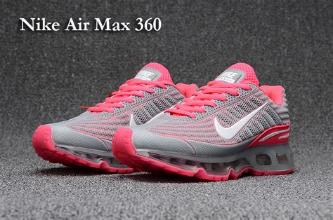 selling running shoes selling nike air max 360 kpu grey pink s running