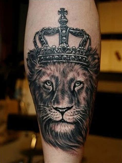 queen lion tattoo 50 meaningful crown tattoos tattoo art lions and crown