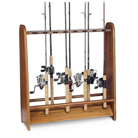 Fishing Rod Racks For Home by Organized Fishing 174 16 Rod Floor Rack 204727 Fishing