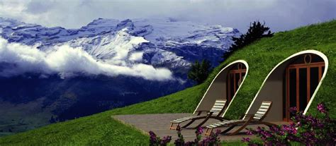 hobbits home a hobbit home of your own hilly grass covered prefabs