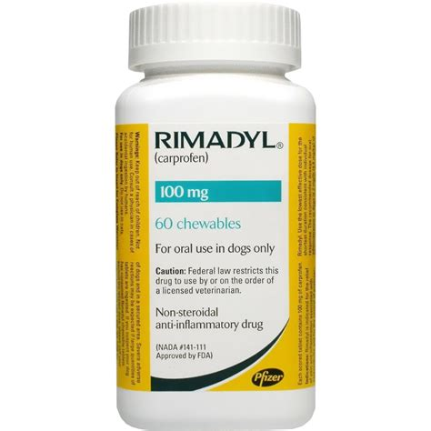 carprofen 100mg for dogs rimadyl 100 mg chewables 60 count mission animal hospital