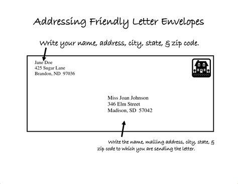 sending a letter format proper friendly letter format image collections letter