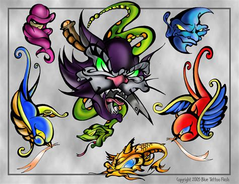 tattoo flash drawings cat tattoo flash page by beejaydel on deviantart