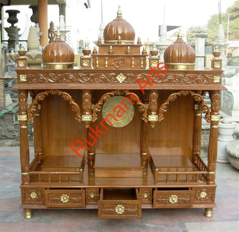 code 51 wooden carved teakwood temple mandir furniture
