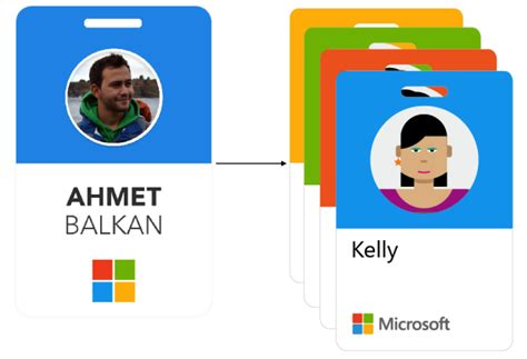 microsoft id card design image gallery microsoft badges