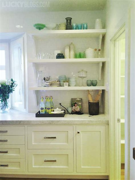 kitchen shelf decorating ideas decorating shelves in a farmhouse kitchen 12 kitchen
