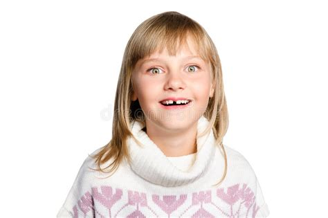 preteen girl with white feathers stock image image of portrait of amazed preteen girl over white stock photo