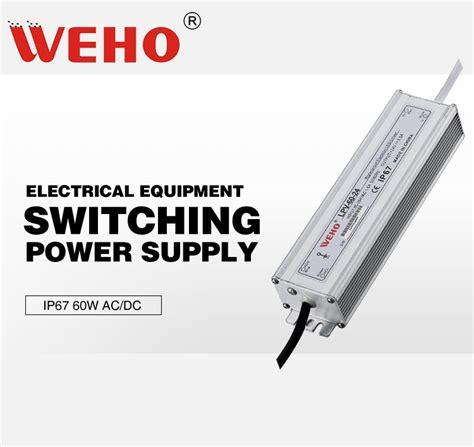 Power Supply Well Led Driver Lpv 60 24 lpv 60 24 ce rohs 60w 24v waterproof led driver 220vac