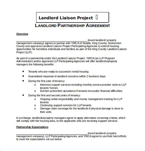partnership agreement template word document partnership agreement template 11 free word pdf
