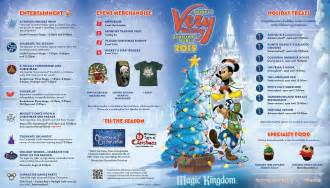 mickey s very merry christmas party 2015 guide map photo