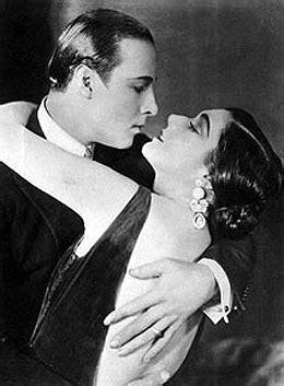 Screen heartthrob Rudolph Valentino makes personal
