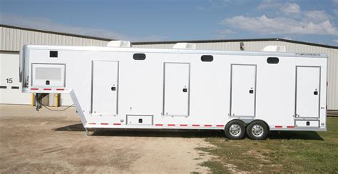 Shower Trailers 2013 featherlite