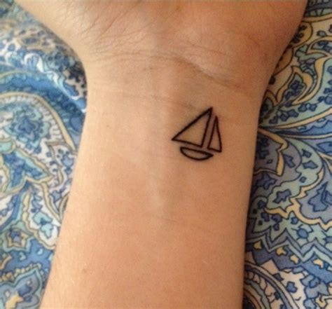 small boat tattoo 101 geometrically gorgeous minimalist ideas