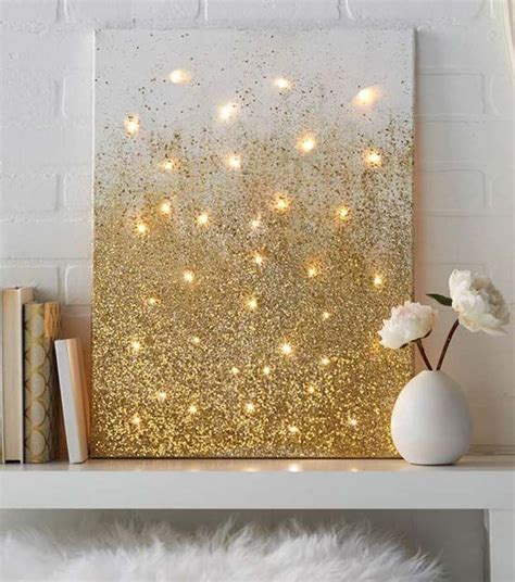 glitter home decor 25 best ideas about arts and crafts on pinterest