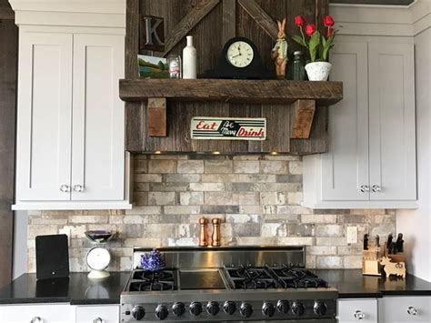 Kitchen Backsplash: Havana Brick 2x11 and 4x8, Malecon