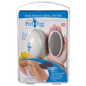 Pad Egg As Seen On Tv Ped Egg Penghalus Kaki brand new ped egg professional pedicure foot file as on tv co uk kitchen home