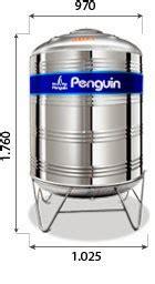 Bulkhead Fitting Penguin Ukuran 3 Inch tandon penguin tandon tangki air penguin type stainless