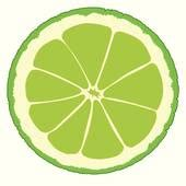 lime slice silhouette lime clip art royalty free gograph