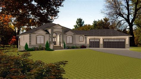 bungalow house plans with basement bungalow house plans with walkout basement lovely bungalow