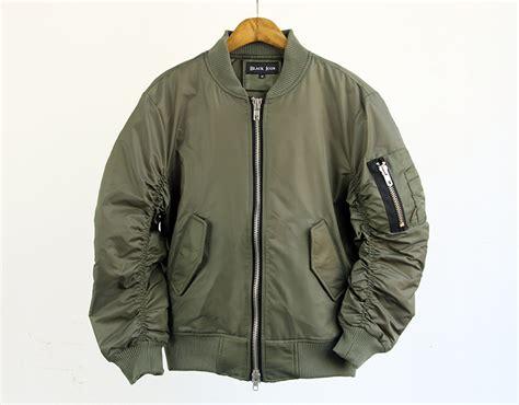 Jaket Bomber Pilot Canvas Marsmello green flight jacket coat nj