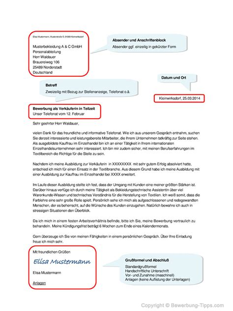 Anschreiben An Eine Firma Vorlage anschreiben inhalt und gestaltung mit muster