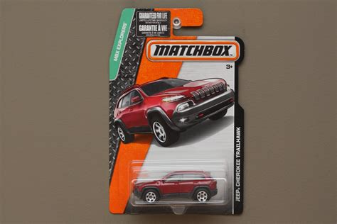 matchbox jeep cherokee matchbox 2015 mbx explorers jeep cherokee trailhawk red
