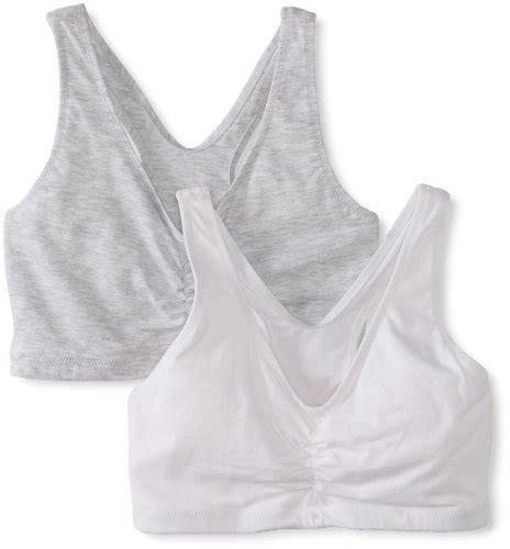 hanes comfort flex fit hanes women s comfort blend flex fit pullover bra pack of