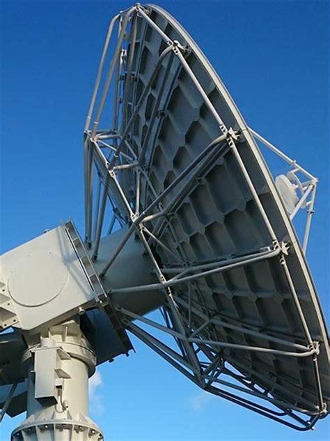 large satellite dish earth station antenna web